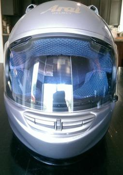 ** Arai Motorcycle Helmet Snell Dot Titanium Color **