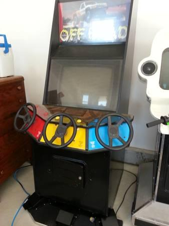 Arcade Games Tekken and Super Off Road - $500