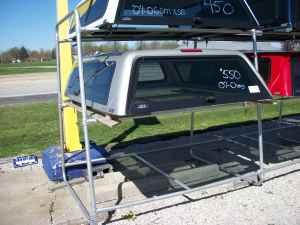 ARE Used Topper 2007-2011 Chevy Short Bed - $550