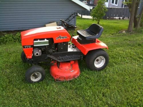 Lawn Tractor Safety : Ariens lawn tractor mower yt hp for sale in