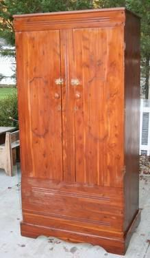 Aromatic Red Cedar Wardrobe Cabinet For Sale In East