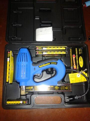 Arrow Et100m Electric Brad Nail Gun With Extras For Sale