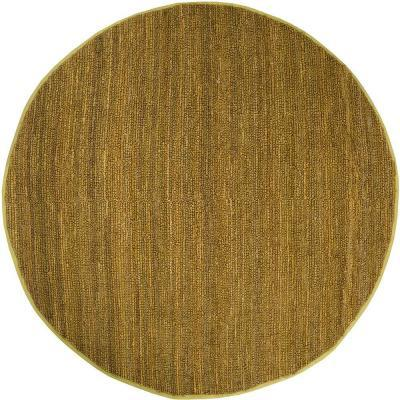 Artistic Weavers Brasil Green Jute 8 Ft Round Area Rug