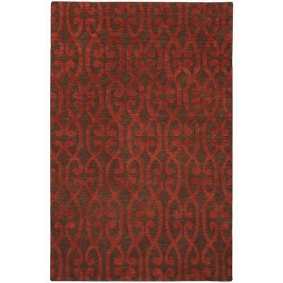 Artistic Weavers Cermona Scarlet 9 ft. x 13 ft. Area