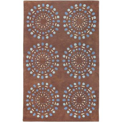 Artistic Weavers Colton Chocolate 5 ft. x 8 ft. Area