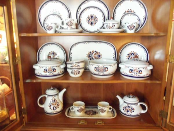 Arzberg Porcelain Service For 12 China Dish Set From Germany For