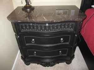 Ashely Britannia Rose Night Stand - $800 (Louisiana)