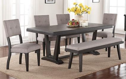 Ashen Echo Dining Set-No Credit Needed Financing