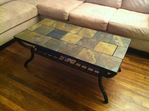Ashley Antigo Slate Top Coffee Table For Sale In Phoenix