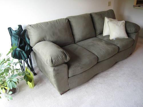Ashley Durapella Sage Couch Sofa Loveseat Set Like