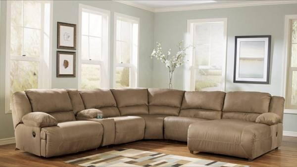 Ashley furniture 5 piece sectional sofa for sale in for Ashley furniture sectional sofa sale
