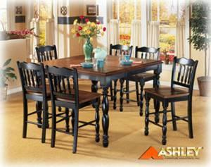 Ashley furniture cedar heights 7 pc pub set lionsville pa area for sale in philadelphia Home furniture design clifton heights pa