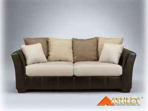 Ashley Furniture Logan Stone 2 Pc Chaise Sectional