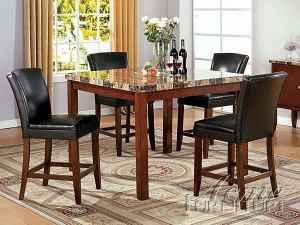 Ashley High Top Faux Marble Table Delavan Darien for