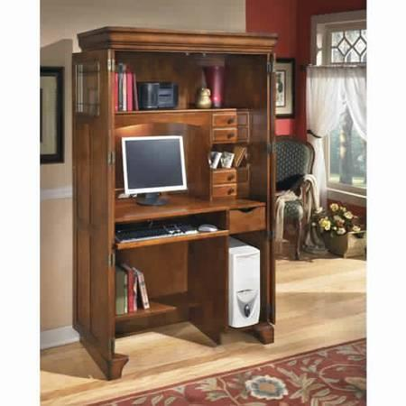 ASHLEY HOME OFFICE ARMOIRE   $300