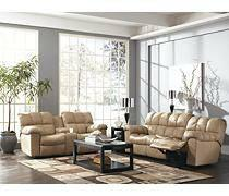 ASHLEY LEATHER RECLINERS - $1495