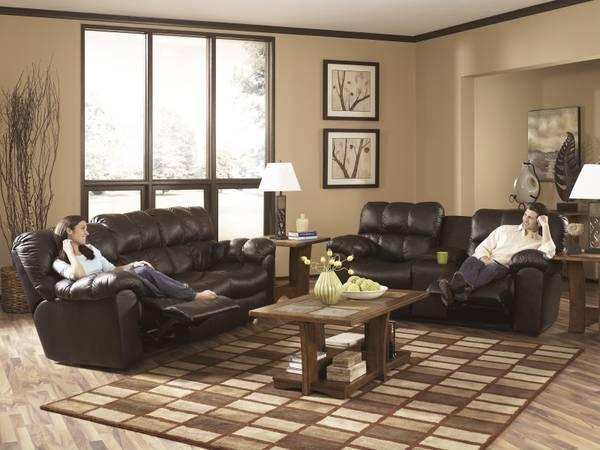 ASHLEY LEATHER RECLINERS - $1699