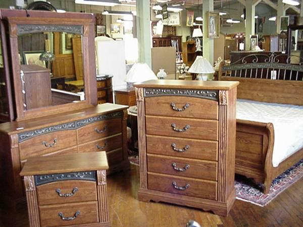 ashley oak 4 piece king size bedroom set for sale in kindts corner