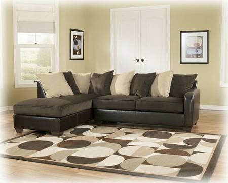 Ashley Vivanne Pillow Back Sectional For Sale In