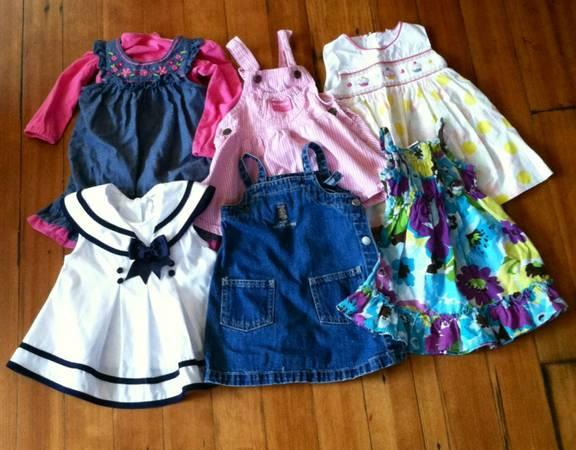 Assorted Baby Girl Dresses - $25