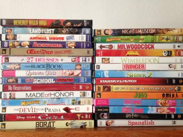 Assorted Kids & Adult ewer DVDs - $30