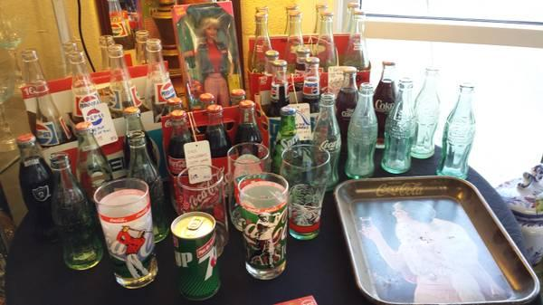 Assorted Vintage Coke Coca Cola Collectibles For Sale In