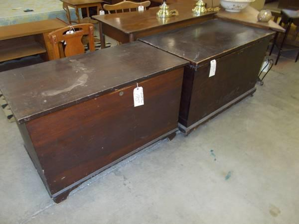 Assortment of Blanket Chests for Sale in Greenwich