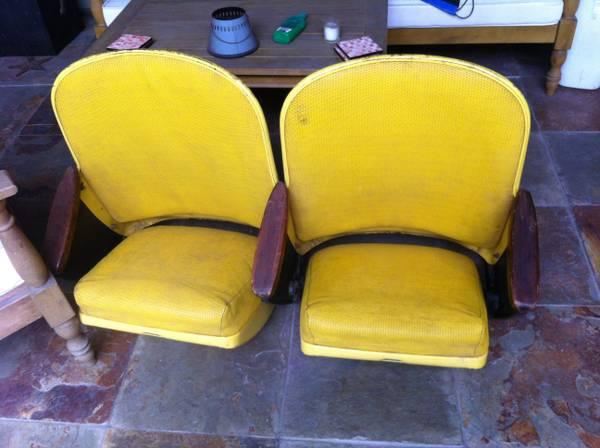 Astrodome Seats - Yellow - $550