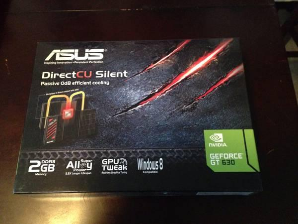 Asus GT630 Video Card-New in Box - $30