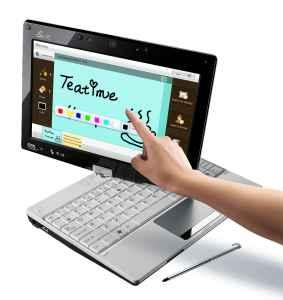 Asus t91 touchscreen tablet with warranty - $250