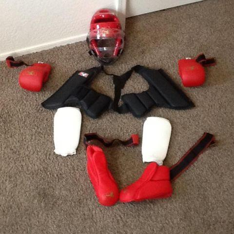 ATA childs sparring gear