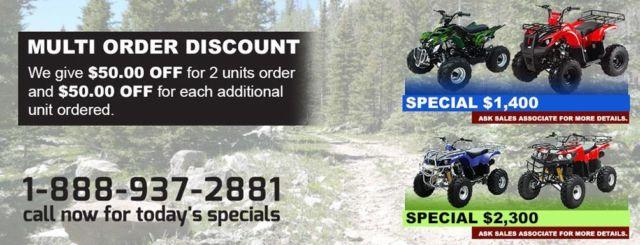 ATA -250CC - Kids Cheap ATVS For Sales (Atvs -250CC)