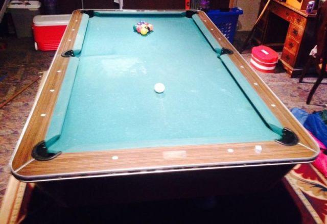 Pool Table Brunswick Chateau Classifieds Buy Sell Pool Table - Brunswick chateau pool table