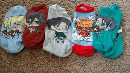 Attack on Titan Socks