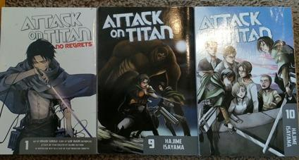 Attack on Titan books: Three for the price of one