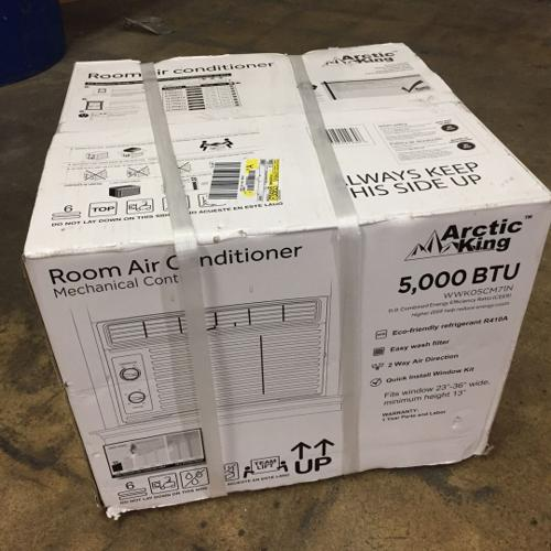 Attic King (BRAND NEW) 5000 BTU Window Air Conditi