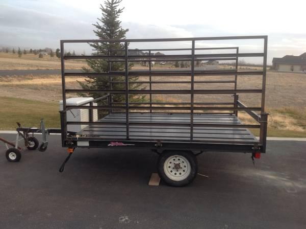 Modular Atv Trailers : Atv trailer for sale in shelley idaho classified