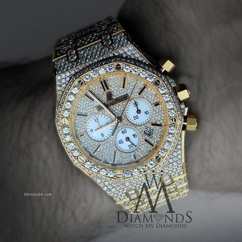 Audemars Piguet Diamond Covered Royal Oak Chronograph 41mm 26320or.oo.1220or.01
