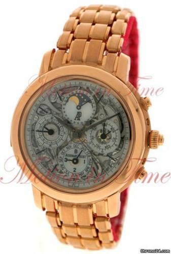 Audemars Piguet Jules Audemars Grand Complication, Skeleton Dial - Rose Gold on Bracelet