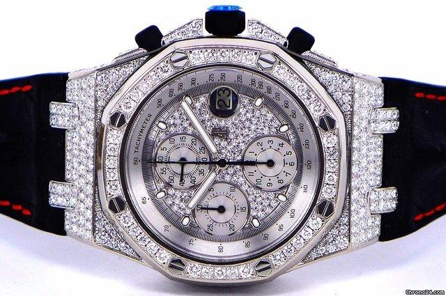 Audemars Piguet Royal Oak Offshore White Gold  Diamonds All Factory
