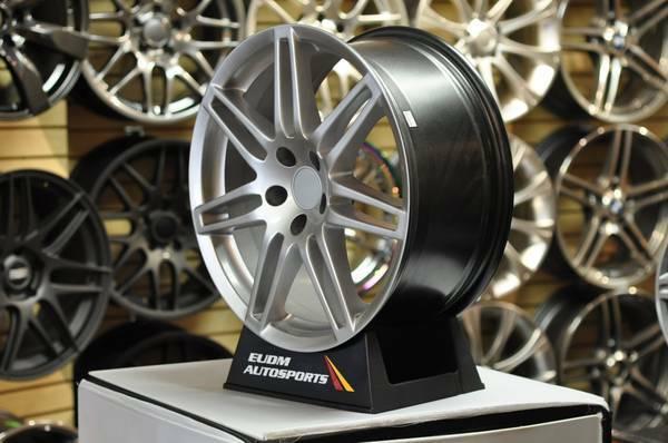 Audi Hyper silver S- Line wheels 18 wheels Jetta Passat VW Audi A4 A2 - $650