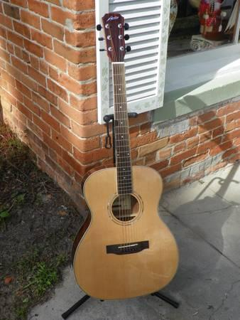 Austin-AA40O-AA40-O-Acoustic-Guitar Solid Spruce Top -