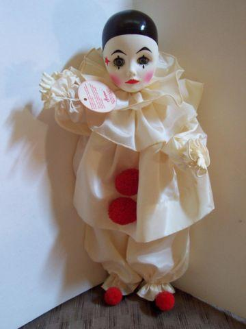 AUTENTIC EFFANBEE PIERROT CLOWN DOLL