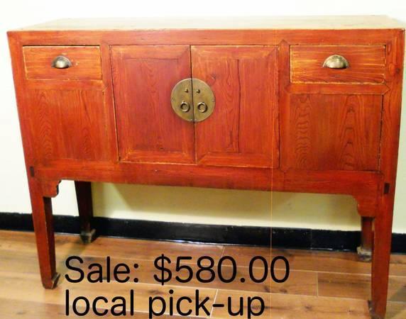 Authentic Antique Chinese Furniture - Authentic Antique Chinese Furniture For Sale In Dallas, Texas