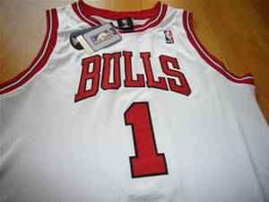 finest selection 2eb21 a6abd AUTHENTIC Derrick Rose Jersey Size 50 - Bulls, White ...