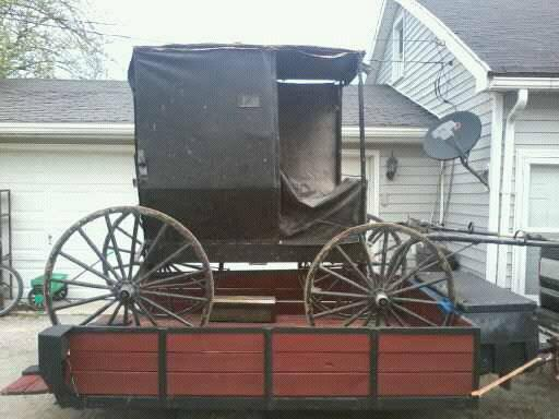 Authentic Hardin County Amish Buggy For Sale In Kenton