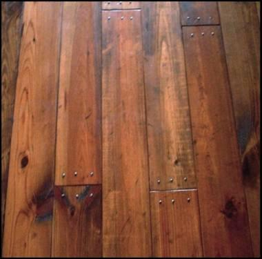Authentic Southern Yellow #2 Knotty Pine Wood Flooring