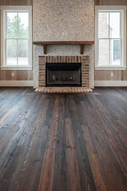Authentic Southern Yellow 2 Knotty Pine Wood Flooring For