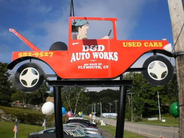 Auto Body Repairs D&D Auto Works Inc
