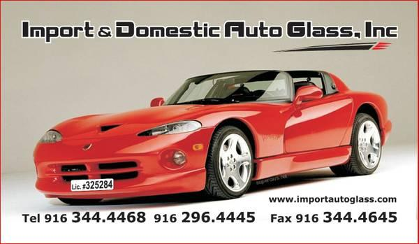 AUTO GLASS For Sale In North Highlands, California